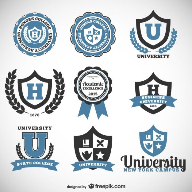 image royalty free stock College vector. University and badges free