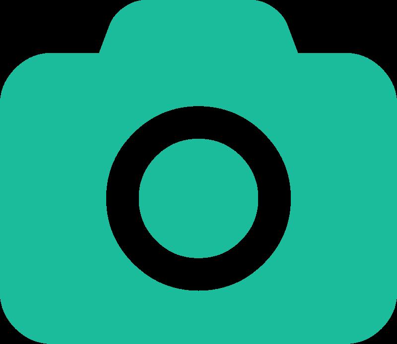 png transparent Lol camera icon medium. Color clipart turquoise