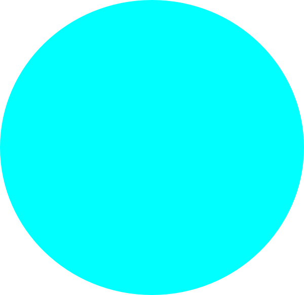 graphic download Blue circle light clip. Color clipart turquoise