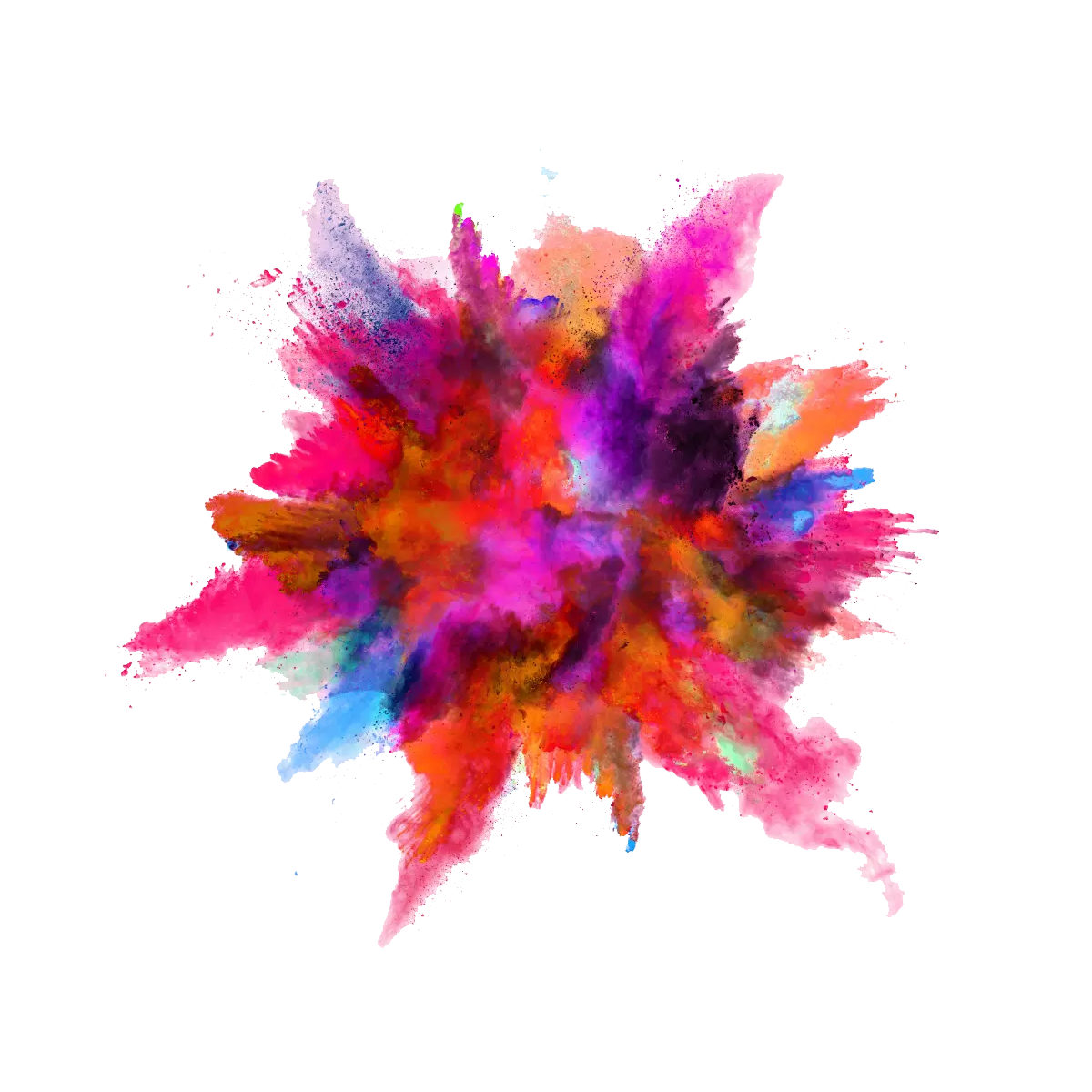 vector royalty free stock Color Powder Explosion PNG Image