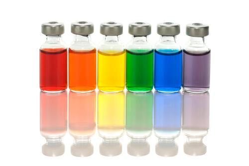 black and white Pharmaceutical Liquid Color Testing