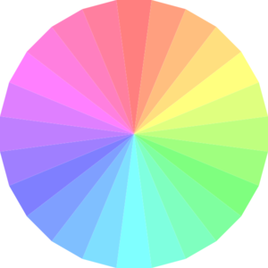 graphic free library Transparent Color Wheel Clip Art at Clker