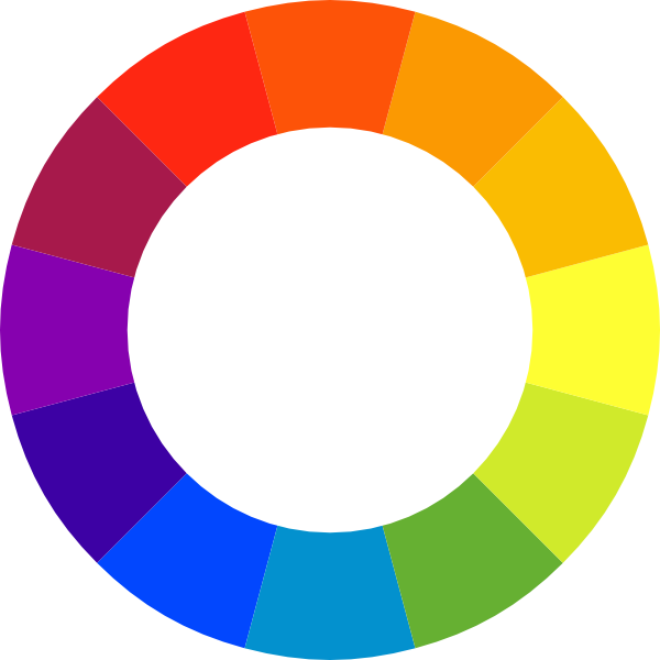 picture royalty free Color wheel clipart. Clip art at clker