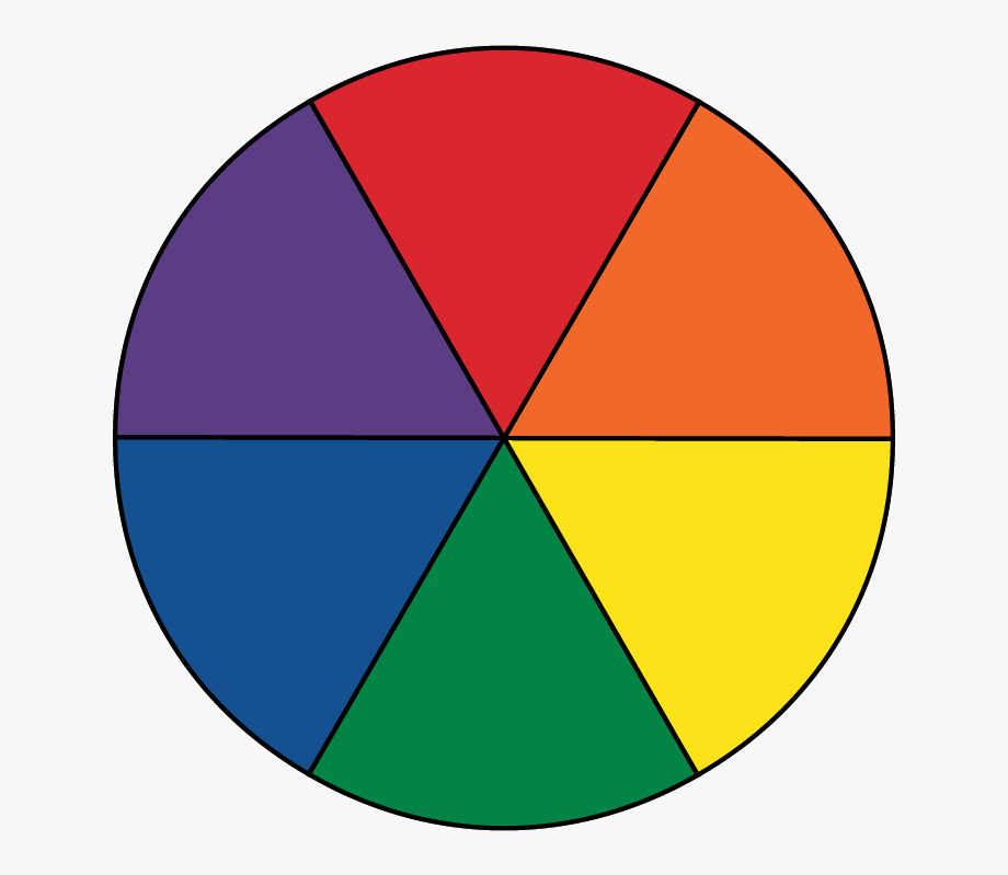 svg library library Colors colour with six. Color wheel clipart