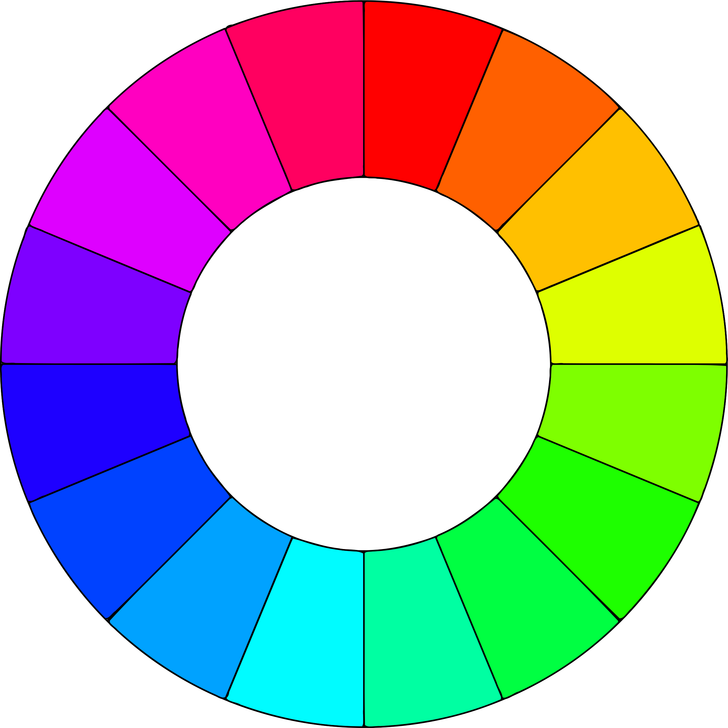 jpg freeuse Color wheel colors big. Colored clipart