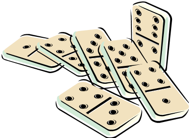 image transparent Dominoes clipart