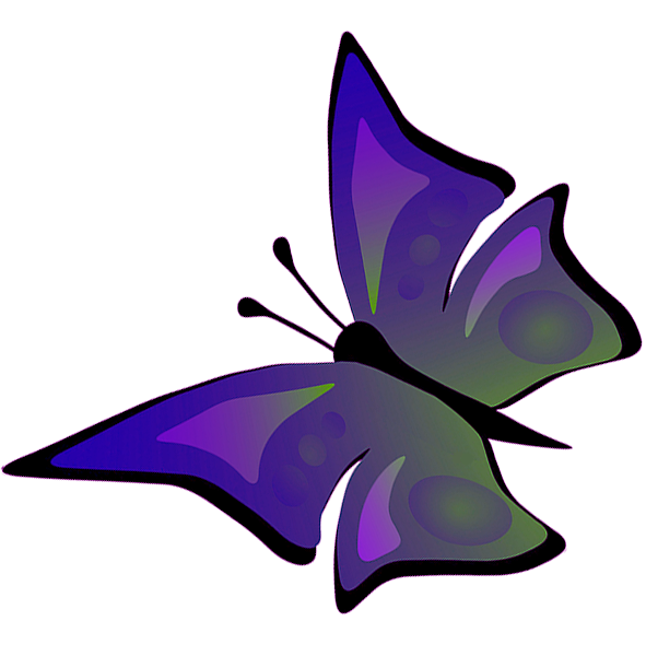 vector black and white library Butterfly flying drawing of. Violet clipart sketch.