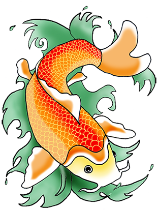 clip art free library Colored fish at getdrawings. Drawing s colorful