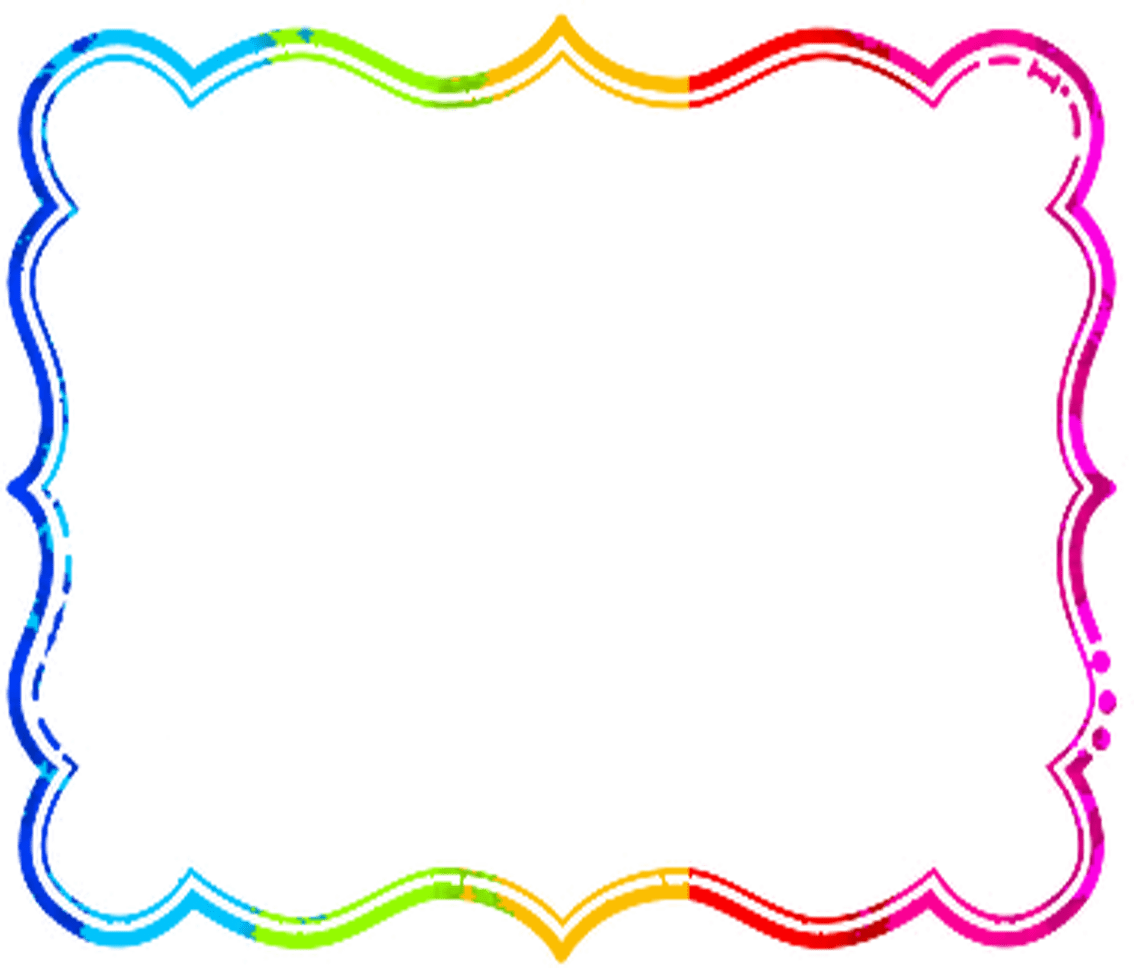 jpg royalty free stock Colorful borders clipart. And frames real vector