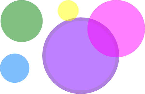 banner library library Colored Circles Clip Art at Clker