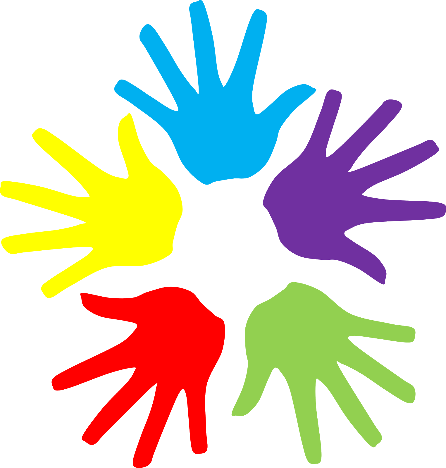 banner royalty free download Colorful hands free cliparts. Therapy clipart philosophy education