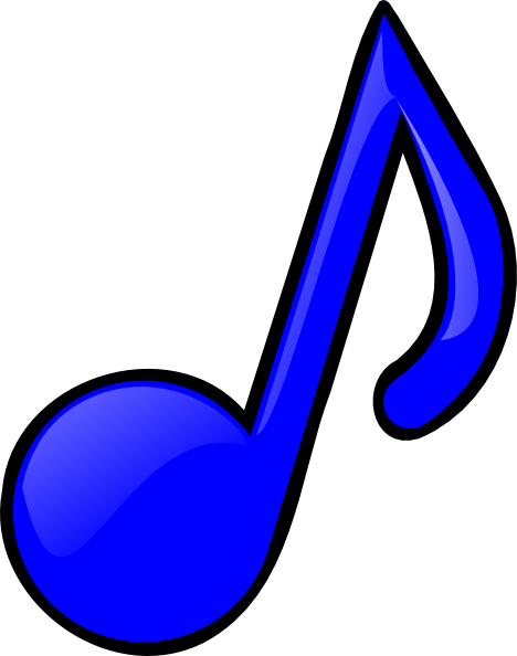 picture free library Music Notes Clipart Colorful