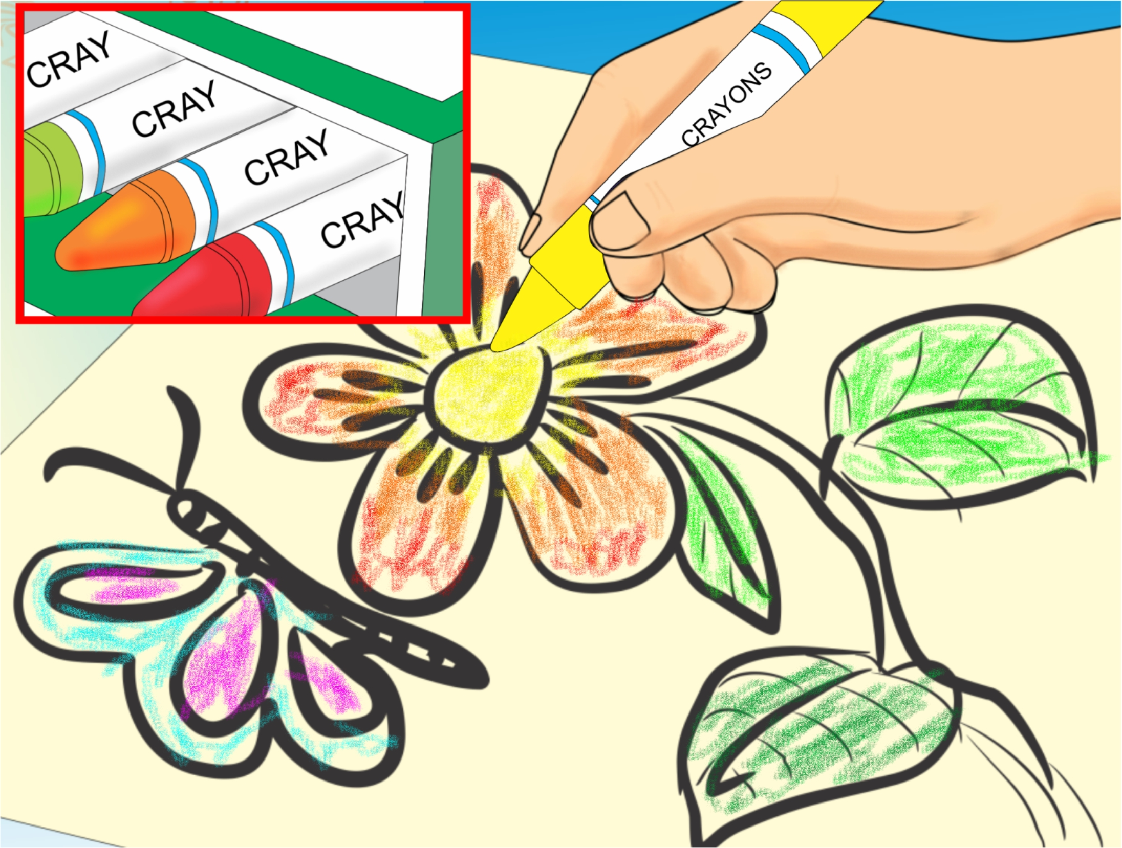 clipart royalty free download Coloring clipart. Free make a book