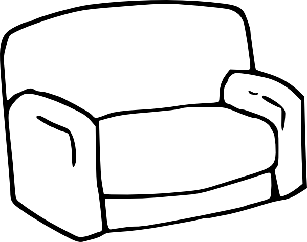graphic download Sofa Clip Art at Clker