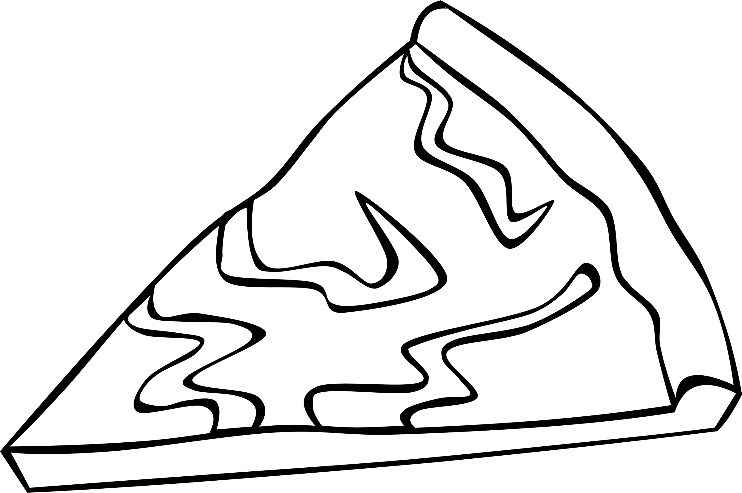 png royalty free library Pizza line drawing at. Snack clipart black and white