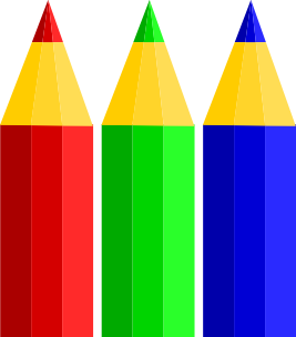 royalty free library Colors clipart. Color pencils clip art