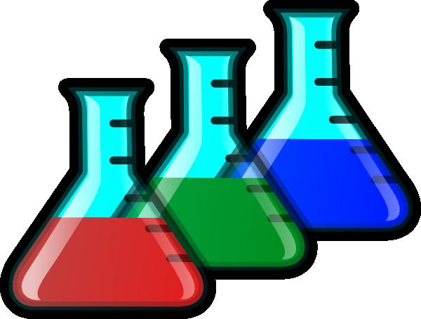 svg transparent library Colored beakers clip art. Beaker transparent chemistry