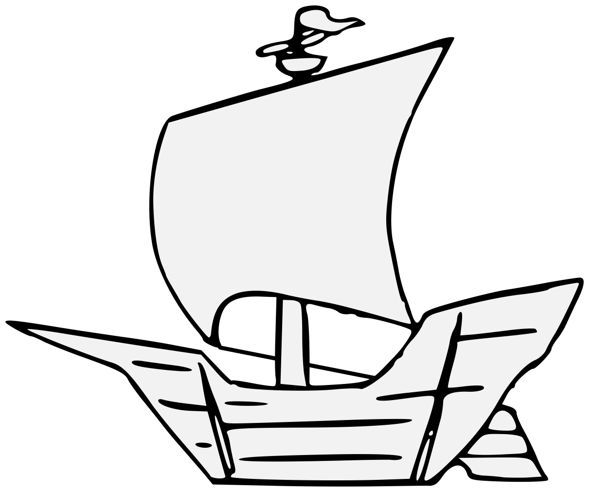 clipart freeuse stock Caravel Drawing at GetDrawings