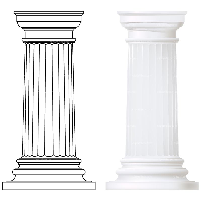 clipart library download Column clipart. Free pillar cliparts download