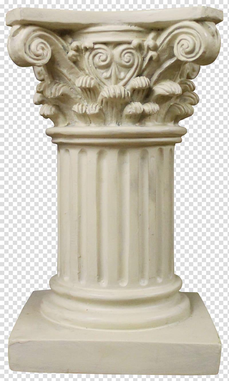 svg royalty free Column clipart marble column. White concrete pillar illustration