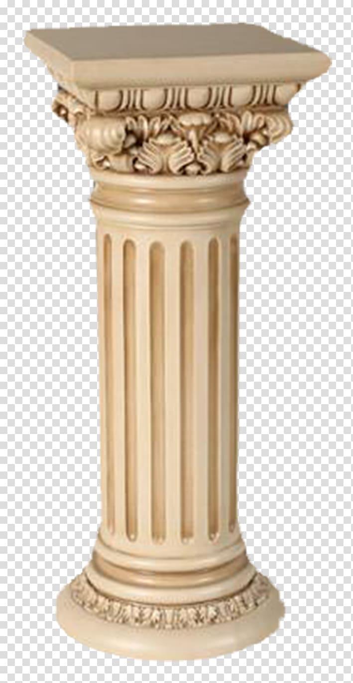 clip download Column clipart marble column. Beige concrete post china