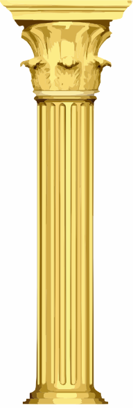 picture transparent library Clip art at clker. Column clipart marble column