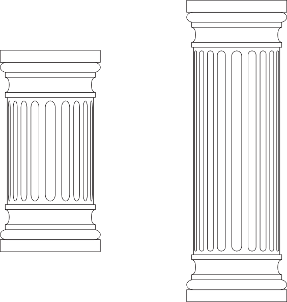 graphic transparent download Columns clip art at. Column clipart marble column