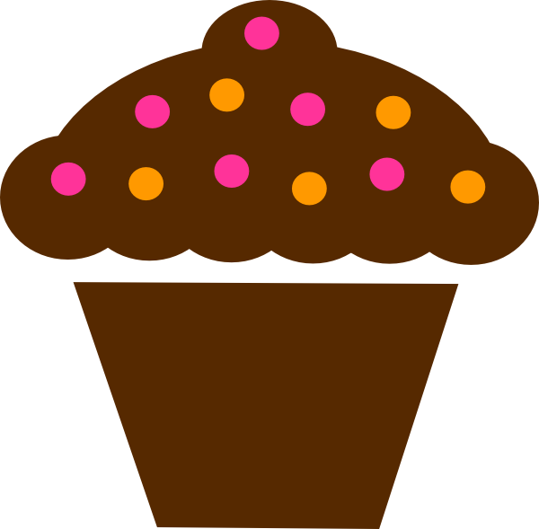 vector freeuse library Dot com panda free. Brown clipart muffin