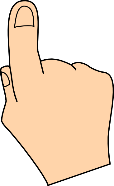 picture free Finger clipart. Clip art at clker