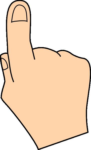 clip black and white stock Finger clip art at. Com clipart