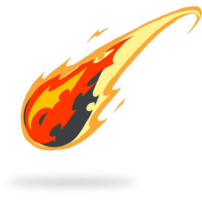 clipart stock Comet clipart. Tail drawing fire png.