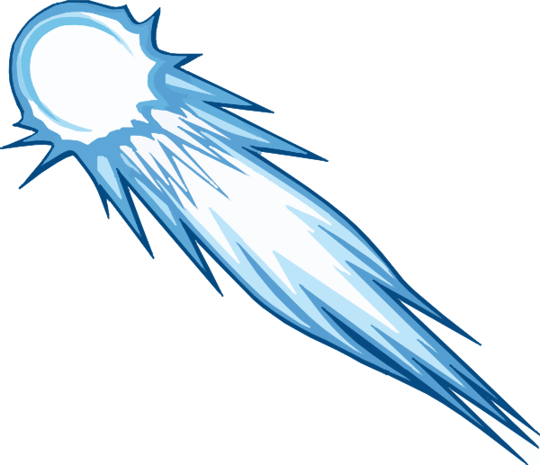 graphic Comet With No Background Clip Art at Clker