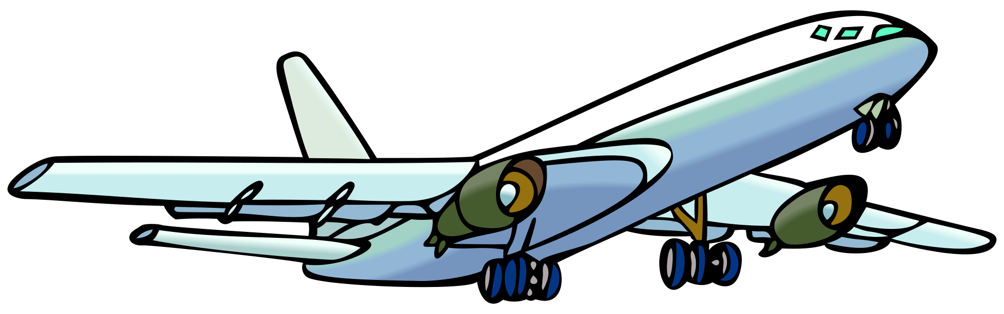 picture royalty free library File airplane svg wikimedia. Commons clipart