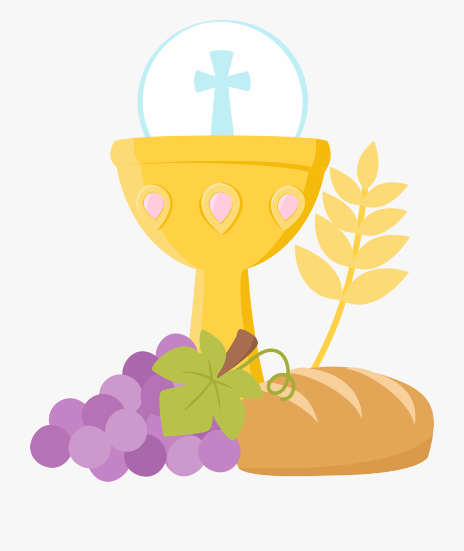 banner royalty free stock Black and white download. Communion clipart.