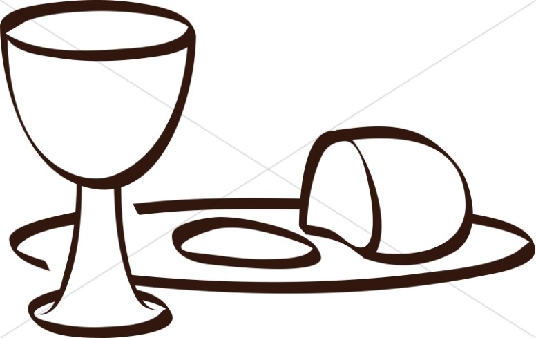 clip royalty free library Communion clipart. Simple clip art .