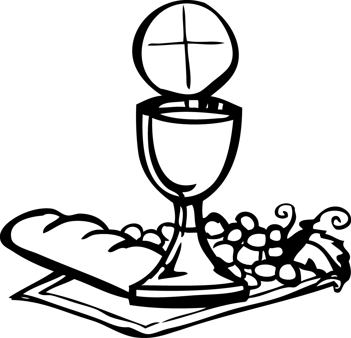 banner royalty free stock Communion . Maundy clipart boy.