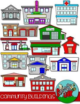 svg library download Community buildings clip art. Supermarket clipart municipal hall.