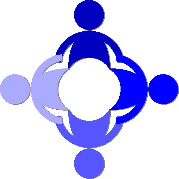 clip Blue Community Clip Art at Clker