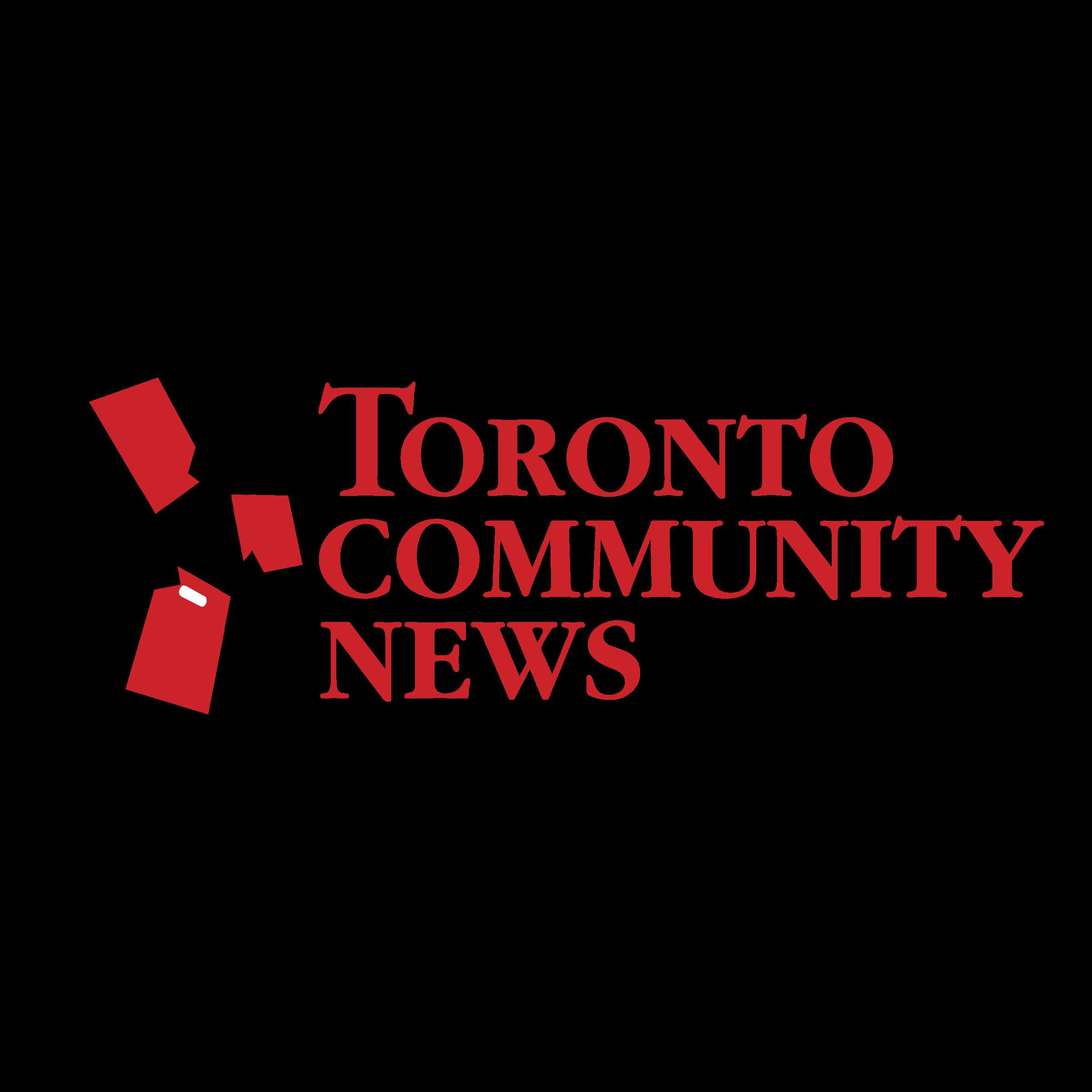 clip art royalty free stock Toronto Community News Logo PNG Transparent
