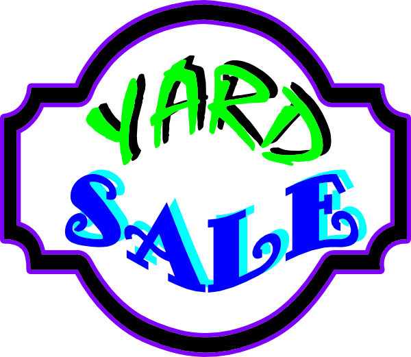 clipart transparent stock Images of Yard Sale Clip Art Png