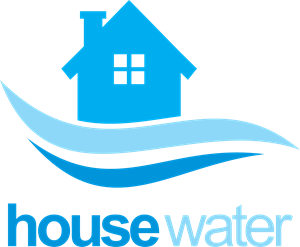 picture freeuse House water supply company Logo Vector