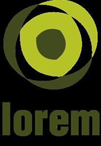 clip black and white big green eye company Logo Vector