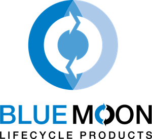 svg free library Blue moon lifecycle logo. Trademark vector product.