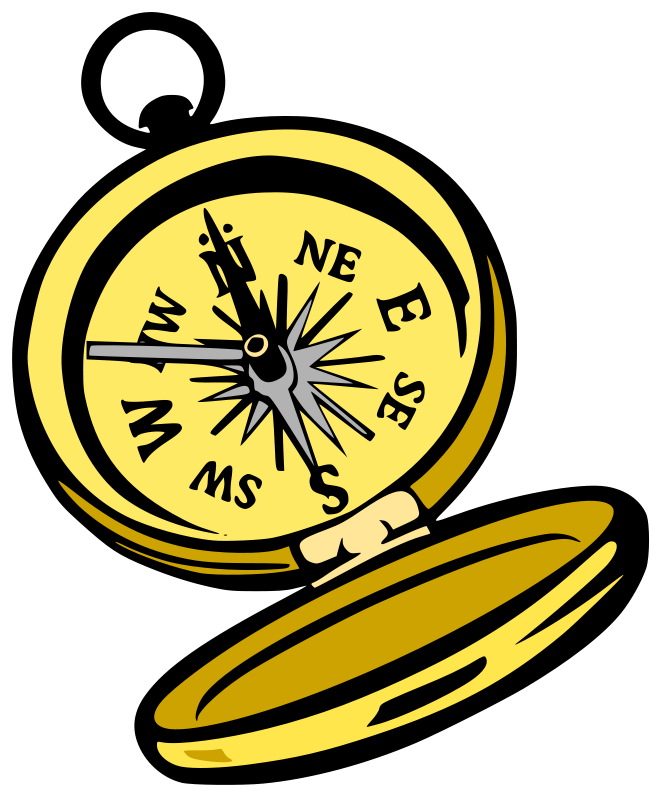 banner freeuse stock Compass clip art free. Geography clipart.
