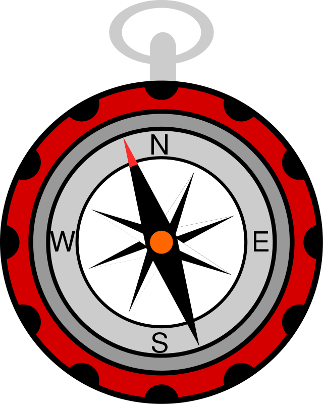 png library stock Compass clipart.