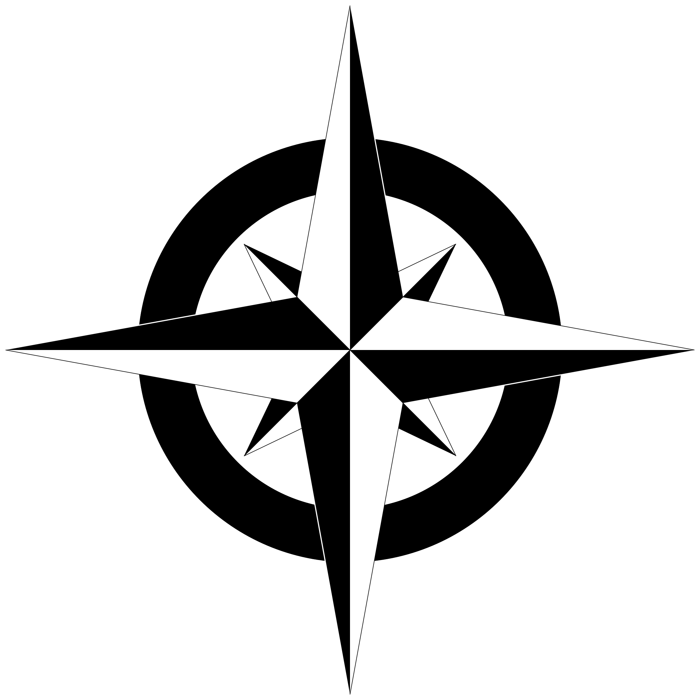 png stock Transparent compass. Rose png black and