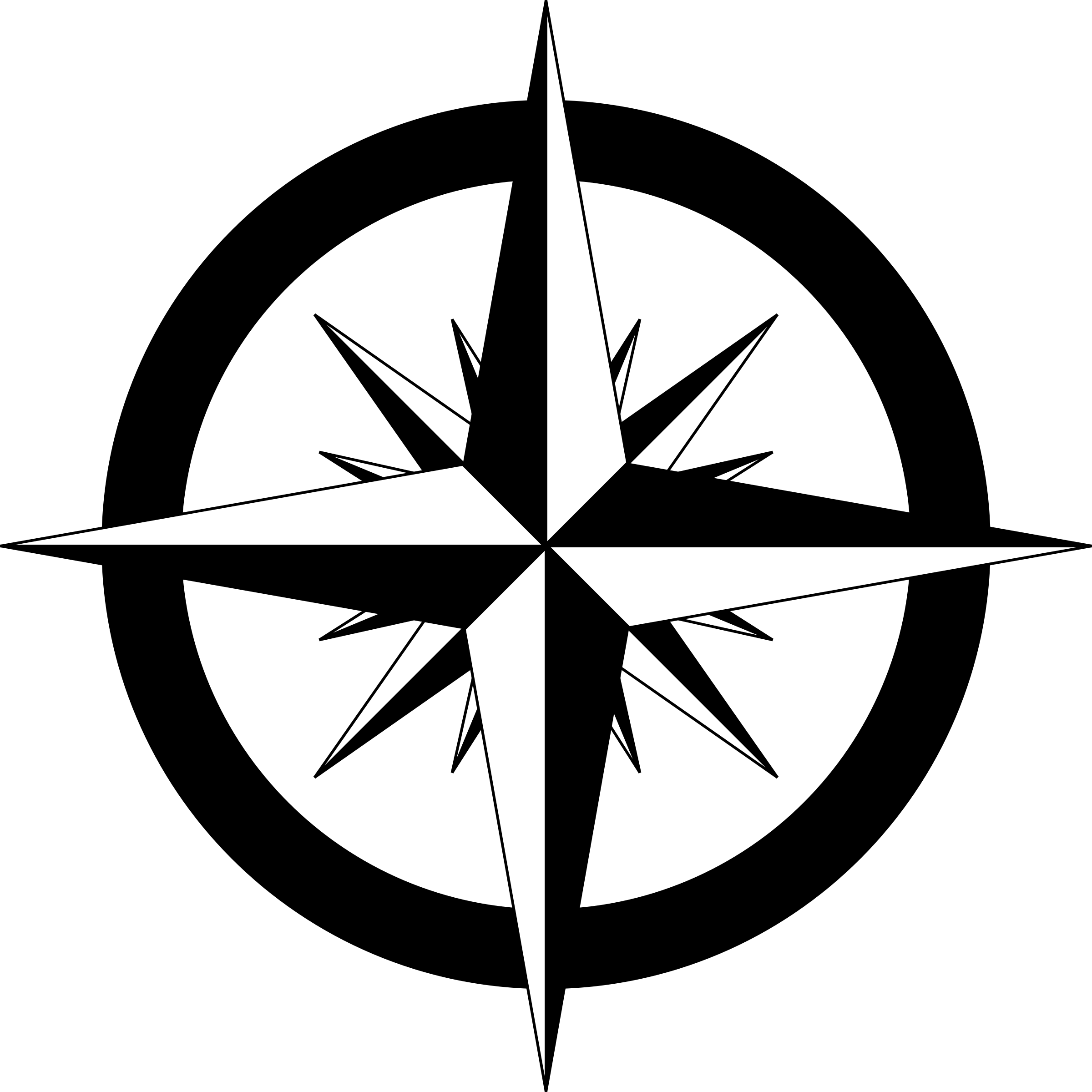 image royalty free library Vector anchors compass. Drawing with a at