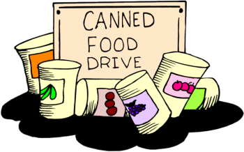 vector royalty free Canned clipart food drive. All categories picture.