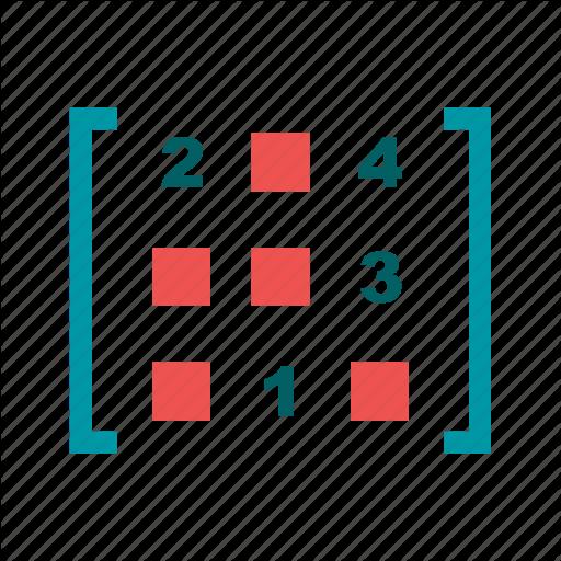 svg Math Symbols Flat Colorful