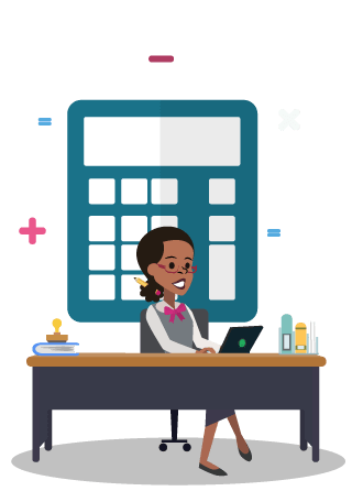 clipart library stock Receptionist clipart reception couple. Virtual receptionists for accountants